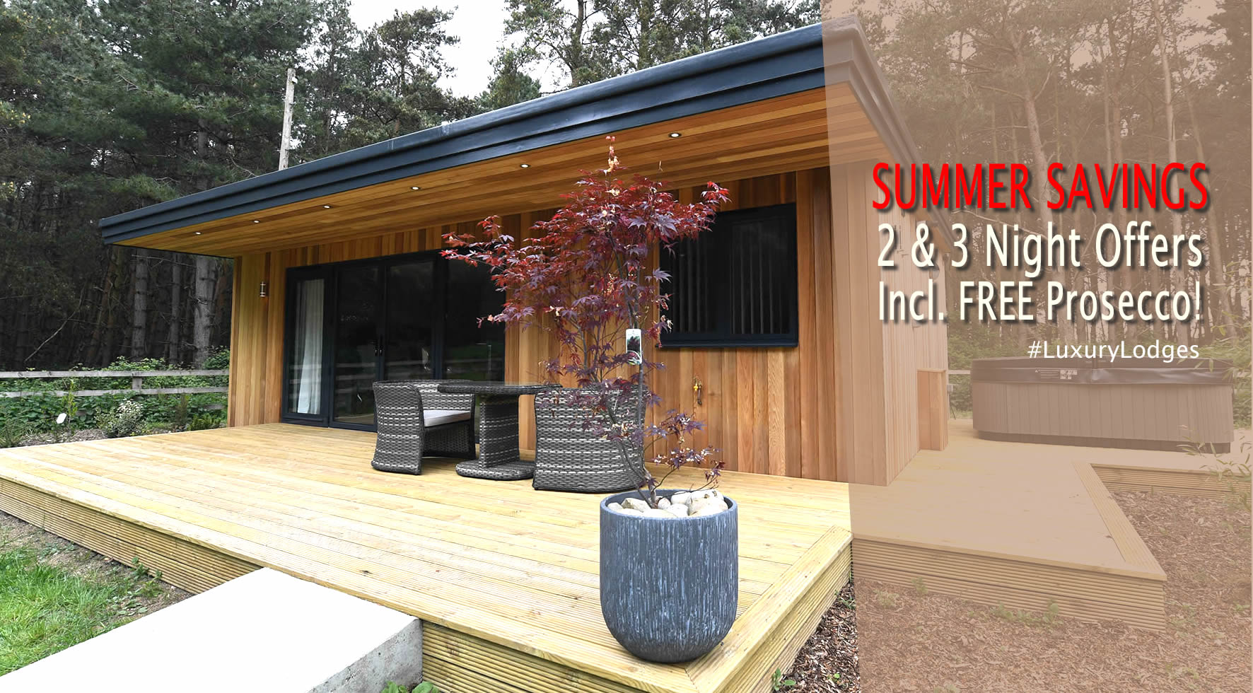 panshill luxury lodges gourmet breaks oxfordshire
